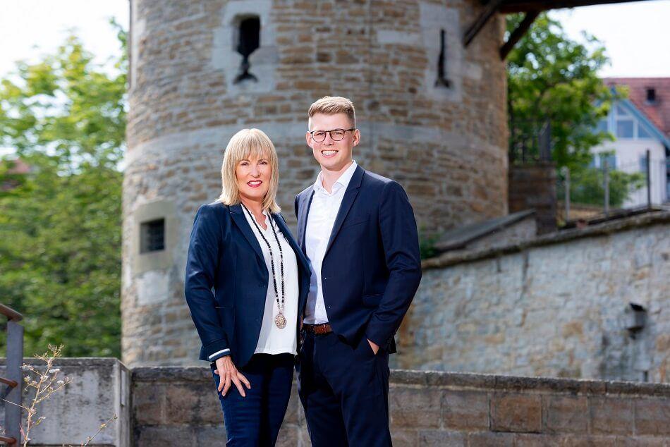 Die Geschäftsführer Silvia Köhl-Jetter und Jörn Köhl
